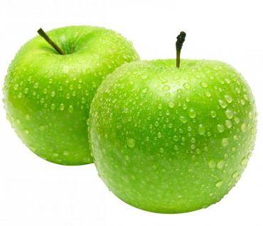 zelená jablka